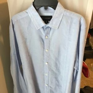 INC Dress Shirt Blue